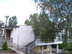An appealing holiday property overlooking the Danube River.