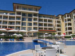 Nice one bedroom flat located in a sea resort complex