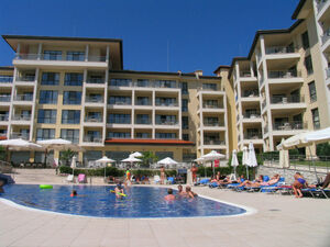 New two bedroom apartment located in a resort complex at sea
