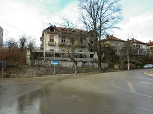 Old spa hotel and casino with plot of land an views for sale