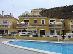 ID3629 Quad Villa 3 bed Playa Flamenca Orihuela Costa