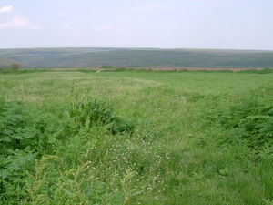 Plot land with nice panoramic views situated in a quiet area
