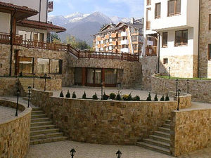 2-bedroom apartment with a fireplace in  Bansko