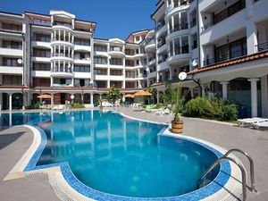 Furnished studio with Pool view for sale in  Sunny Beach