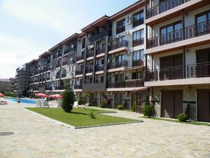 Furnished 1-Bedroom apartment 200 m from the sea in St.Vlas