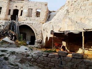 A historical land(house) in Cappadocia/Turkey for sale