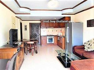 House for rent Pattaya - pool view penthouse apartment