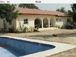 For sale in Gambia 4bed bungalow with land £79000