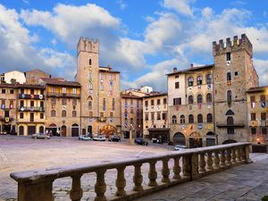 A four star hotel in the center of Arezzo.