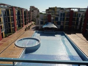 Pool view furnished 1 Bedroom apartment in complex Elit IV
