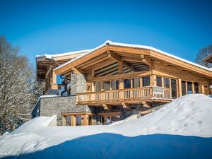 New chalet with panoramic views, in Kitzbühel.