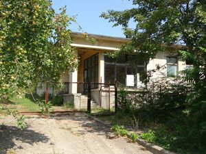 Old bakery with plot of land 50 km from the Black sea coast
