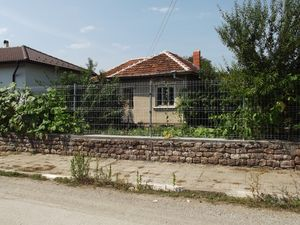 An old house with land in a village 10 km from spa resort