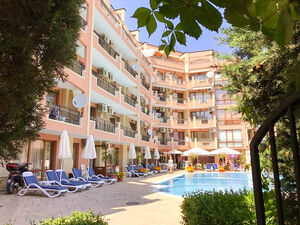 Cozy furnished 1-bedroom apartment in Complex Antares, Sunny