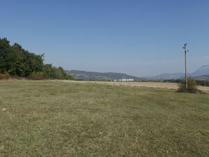 Spacious plot of regulated land with nice view near spa town