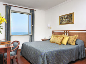 Hotel with sea view, in Viareggio.