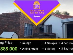 3 Bedroom House For Sale in Ridgeway (JHB South)
