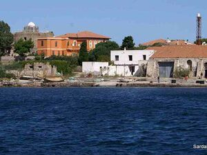 Sea Front Buildings to be restored in Carloforte Sardinia
