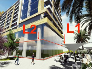 Commercial space L1 - the ground floor,floor space 150.19 m2