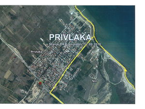 Construction land, Privlaka, near town Zadar, Croatia, 758m2