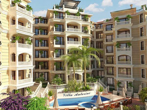 Elegantly furnished studio in Villa Antorini, St. Vlas, 150