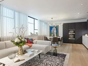 Apartment in a new residential complex in Central London.