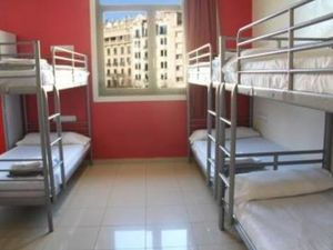 Hostel in the Central district of Barcelona.