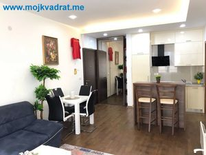 Furnished One-bedroom apartment 49m2 Budva