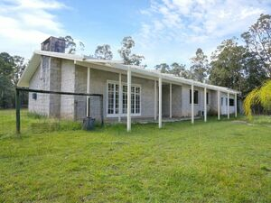House with airstrip on 220 acres to live in or develop