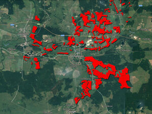 4389 Hectares of agricultural land in Kaliningrad, Russia