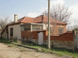 House in quiet rural countryside in bulgaria