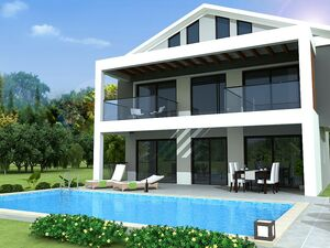 LARGER THAN AVERAGE LUXURY 4 BEDROOM VILLAS IN OVACIK