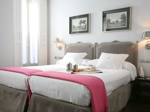The boutique four-star hotel in the centre of Madrid.