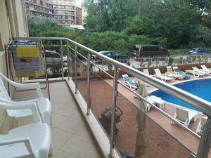 Pool view apartment with 2 Bedrooms in Balkan Breeze 1