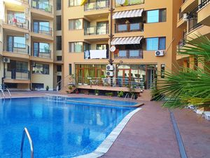Ground floor studio apartment, 32 sq.m., Sunny beach