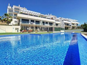Furnished 2bed, 2 bath apartment with parking in Villamartin