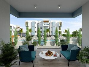 New apartment 2 bedroom in exclusive project in paralimni