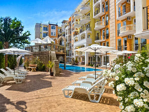 Luxury 1-bedroom apartment in Sweet Homes 2, Sunny Beach