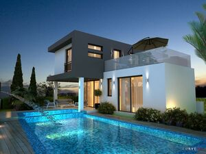 New Seafront Villa 5 Bedrooms in kapparis