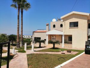 Large House 4 bedrooms with sea view and large plot Protaras