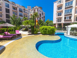 Furnished 1-bedroom apartment in Romance Marine, Sunny Beach