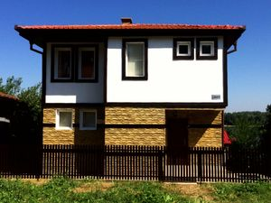 New two-story house near Danube