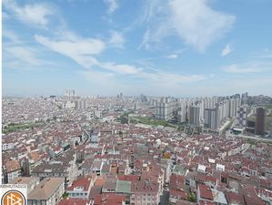 City view 3+1 compound apartment for sale in Istanbul