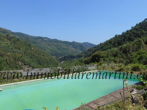 Two villas with pool and 22000 m² of land in Dolceacqua