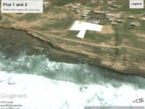 Sea front land for sale in Asilah. $280 per(m³)