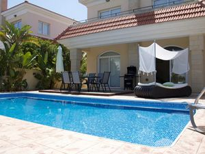 Sea Front Villa 3 Bedrooms with Pool in Kapparis