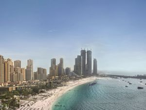 DUBAI - OWN SEA VIEW IN JBR WITH 43k EUR DOWN PAYMENT