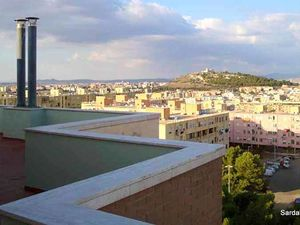 Penthouse apartment with terrace in Cagliari