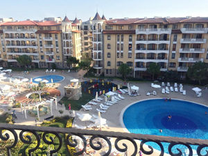 1-bedroom apartment with Pool View in Royal Sun, Sunny Beach