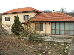 For sale a solid, two-storey house in a village close to the